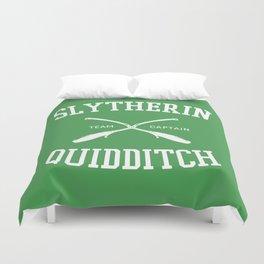 Hogwarts Quidditch Team: Slytherin Duvet Cover