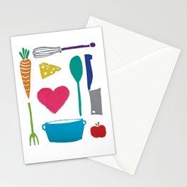 Palatable Printmaking Stationery Cards