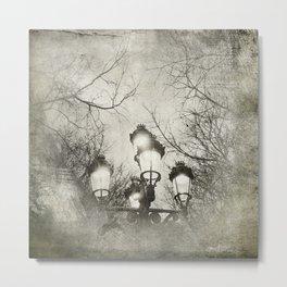 Vintage Lantern Metal Print