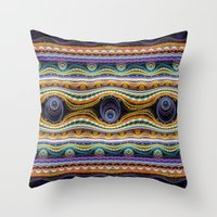stripe Throw Pillows featuring stripe by Antracit
