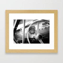 Intérieur italien. Framed Art Print