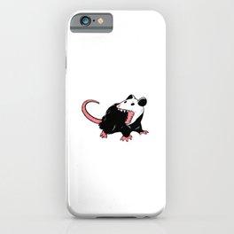 Yaaaaas Possum Lover Gift iPhone Case