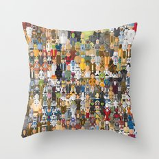 StarWars Characters Megaposters Throw Pillow