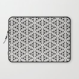 Modern abstract tiny triangle shaped lace modern abstract pattern Laptop Sleeve