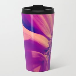 Floral Gem Abstract Travel Mug