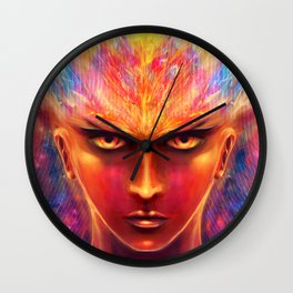 Unfiltered anger Wall Clock