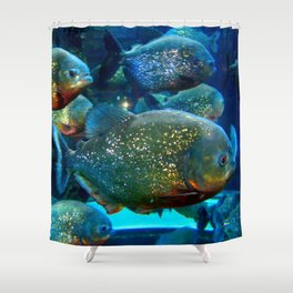 These are not gold fish Shower Curtain