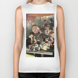 Renoir's Luncheon of the Boating Party & Grease Biker Tank