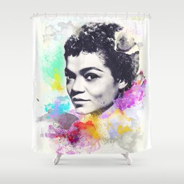 Eartha Kitt I Shower Curtain