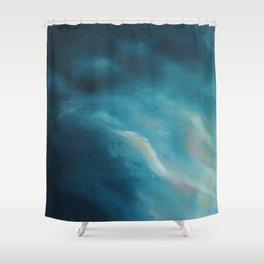 Soft Blues 1 Shower Curtain