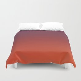 ODYSSEY - Minimal Plain Soft Mood Color Blend Prints Duvet Cover