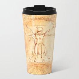 Vitruvian Mewtwo Travel Mug