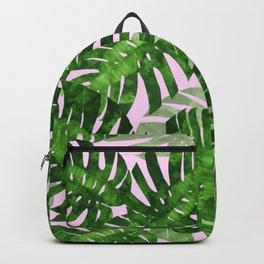 Tropical leaf VI Backpack