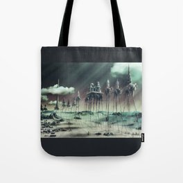 -Caravan Dali- GREEN Tote Bag
