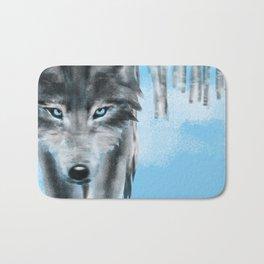 2018 Wolf Calendar Bath Mat