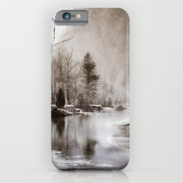 Flow, River, Flow -- The Merced River Flows Through Yosemite iPhone Case