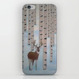 Winter Birch iPhone Skin