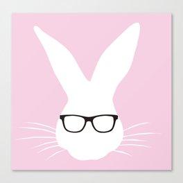 Geeky Bunny Candyfloss Canvas Print