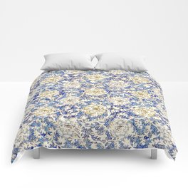 White Roses and Vine Pattern Comforters