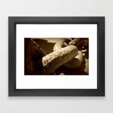 Anchor Chain Framed Art Print