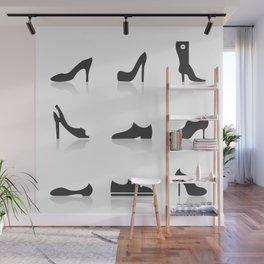 Icon footwear Wall Mural