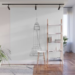 """Travel Collection"" - Empire State Building Wall Mural"