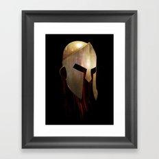 The Last Spartan Framed Art Print