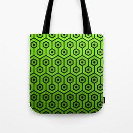 Geometric Design 1 (Lime) Tote Bag
