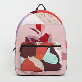 Cherry Floral Backpack