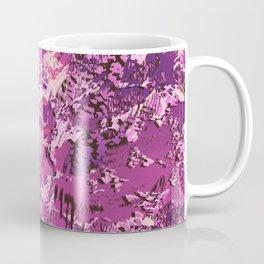 texture in fuchsia Coffee Mug