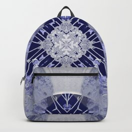 Microchip Mandala in Purple Backpack