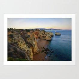 Cliffs of Algarve Art Print