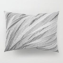 Agave Abstract Black & White by Murray Bolesta! Pillow Sham