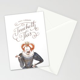Thou Cannot Toucheth This Stationery Cards