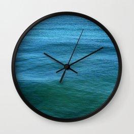 The Calm Blue Wall Clock