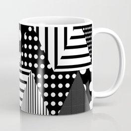 Triangles Patchwork #2 Coffee Mug