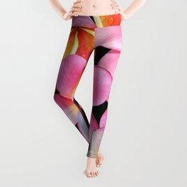 Pink Plumerias Leggings