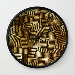 Abstract overlays Wall Clock