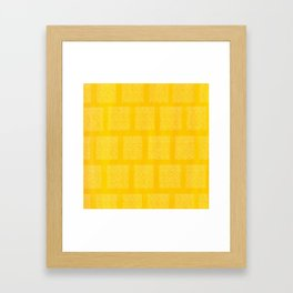 Inca Framed Art Print