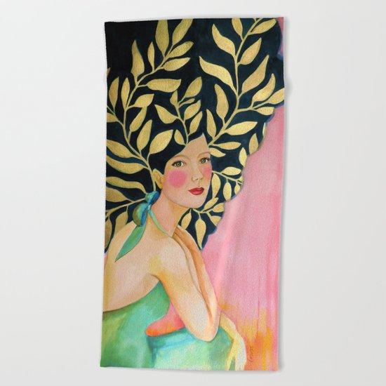 sofia (original) Beach Towel