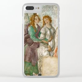 "Sandro Botticelli ""Venus and the Three Graces Presenting Gifts to a Young Woman"" Clear iPhone Case"