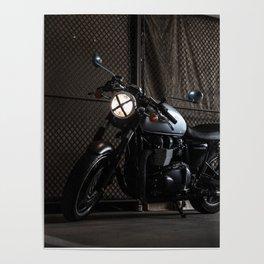 Triumph Cafe Racer Poster
