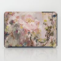nursery iPad Cases featuring Flora painting/Nursery by Erin Zhao
