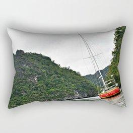 Human in nature Rectangular Pillow