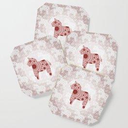 Toy Horse Pattern Coaster