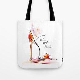 high heel Tote Bag