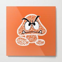 Goomba #CrackedOutBadGuys Metal Print