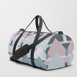 Scandi Waves #society6 #scandi #pattern Duffle Bag