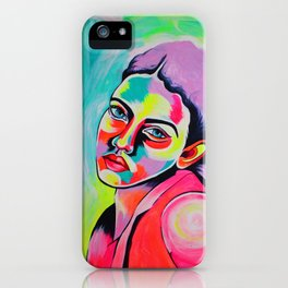 Marina Mina iPhone Case