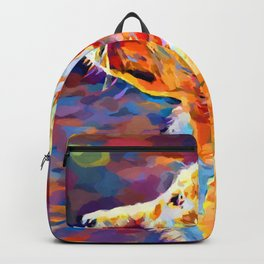 Golden Retriever 8 Backpack